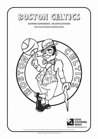 Coloring Pages Nba Logos Teams College Basketball