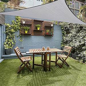 Segel Für Terrasse : grau sonnensegel und weitere sonnenschutz g nstig ~ Sanjose-hotels-ca.com Haus und Dekorationen