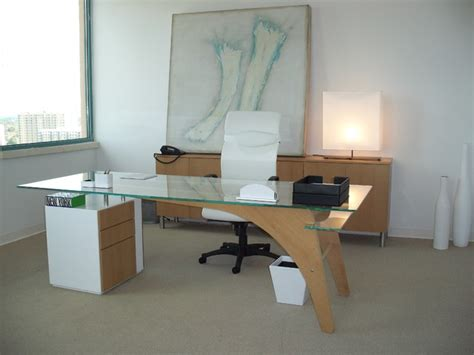 Office Desk Miami by 1400 Desk Modern Home Office Miami By Fd M Inc