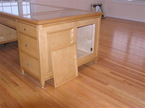 bureau like woodworking plans with compartments with