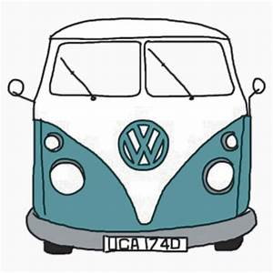 """Hippie Van"" Stickers by lbramble15 