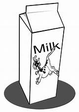 Milk Coloring Cow Carton Printable Pages Cartons Printables sketch template