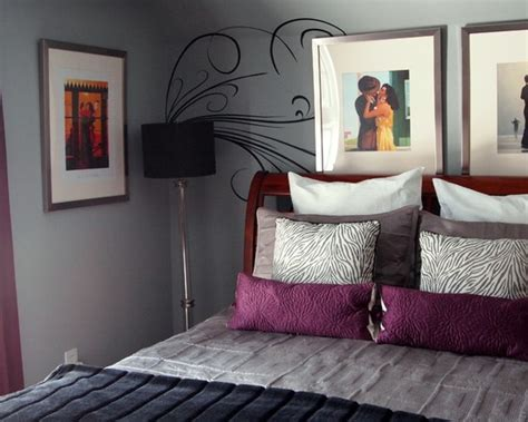 Best Images About Purple Grey Bedroom On Pinterest