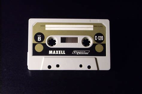 Vintage Cassette by Maxell Vintage Audio Cassette C 120 Used Type I