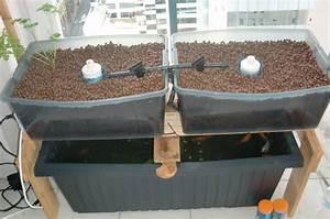 Geotextile Pour Carré Potager : cr er son potager bio en aquaponie sur son balcon ~ Melissatoandfro.com Idées de Décoration