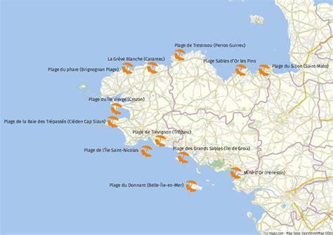 bretagne karte onlinebieb
