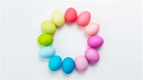 easter egg dyeing color wheels martha stewart