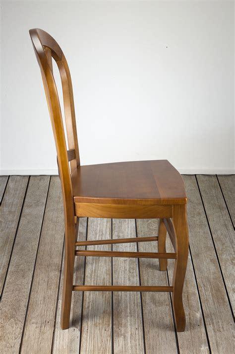 chaise bois massif chaise de style louis philippe en merisier massif
