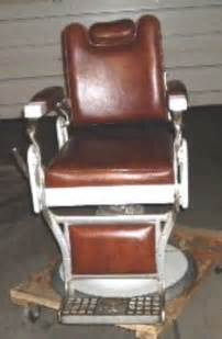 antique koken barber chair restored recline salon ohio