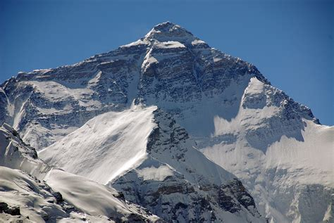 05 Mount Everest North Face Close Up From Rongbuk