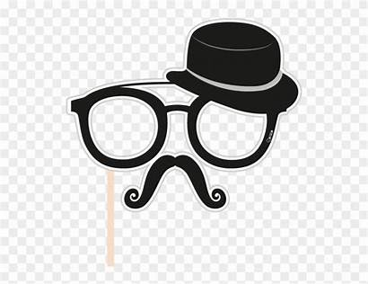 Booth Props Clipart Glasses Monocle Glass Gambar