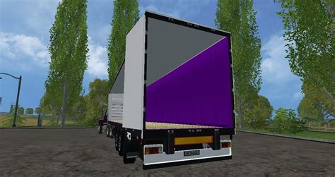 fruehauf tautliner trailers pack fs farming simulator