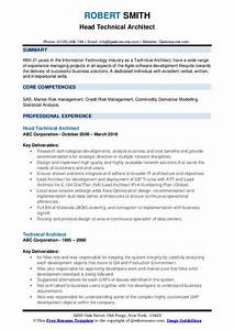 Technical Resume Skills Technical Architect Resume Samples Qwikresume
