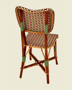 Chaise Terrasse Professionnel : chaise parnasse bordeaux vert jade blanc maison drucker ~ Teatrodelosmanantiales.com Idées de Décoration