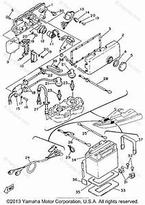 Yamaha Waverunner 1993 Oem Parts Diagram For Electrical