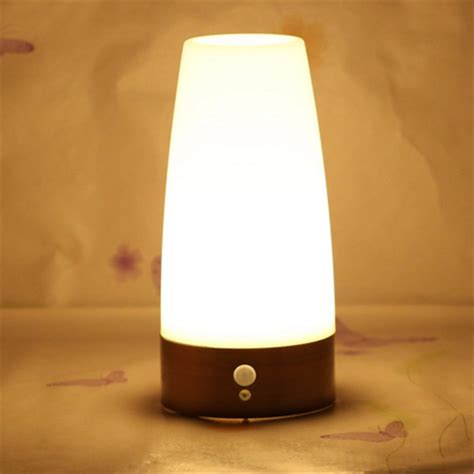 battery operated table l wireless led night light table bed l motion sensor battery operated for indoor lighting