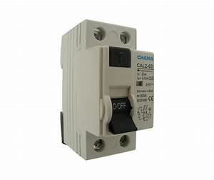 Two Pole Residual Current Circuit Breaker 25a 30ma Trip