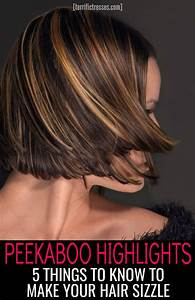 Peekaboo Highlights 5 Things To Know To Make Your Hair