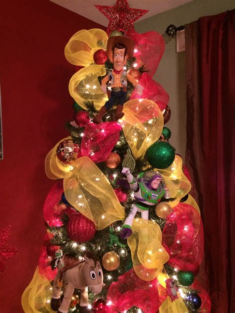 toy story decoration ideas christmas tree