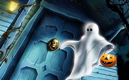 Halloween Wallpapers Happy Ghost Scary Spooky Ghosts