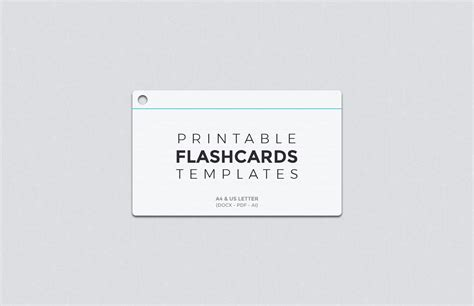 Flashcard Template Free Printable Flashcard Templates Medialoot