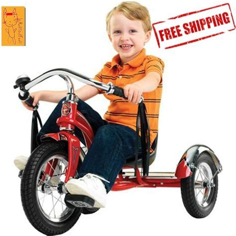 radio flyer dual deck tricycle walmart tricycle bike bicycle schwinn toddler ride roadster