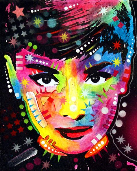 Audrey Hepburn Painting By Dean Russo