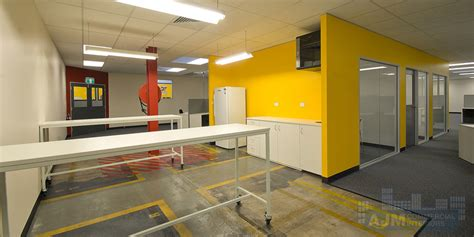 caterpillar full office fitout completed  ajm commercial
