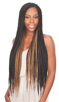 Jumbo Box Braids with Kanekalon Hair