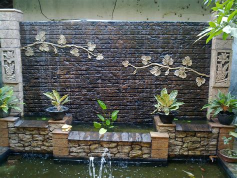 how to build a waterfall wall how to make your home interior looks fresh and enjoyable with delicate water features homesfeed