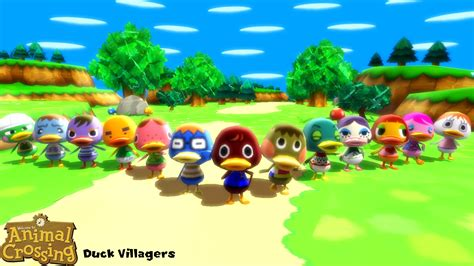 Mmd Model Duck Villagers Download By Sab64 On Deviantart