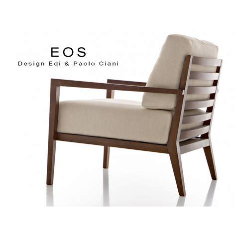 fauteuil de salon fauteuil pour salon lounge hôtellerie eos structure bois 4