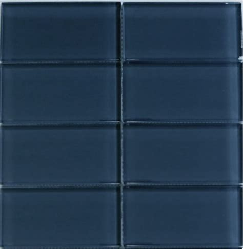 Blue Kitchen Ideas - glass subway tile 3x6 cobalt blue tile perfect for any