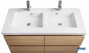 Poignée Meuble Salle De Bain : meubles salle de bains en ch ne massif lignum espace aubade ~ Dailycaller-alerts.com Idées de Décoration