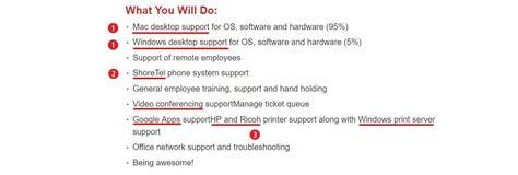 duties of help desk support help desk resume sle complete guide 20 exles