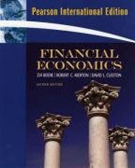 financial economics  ed international edition