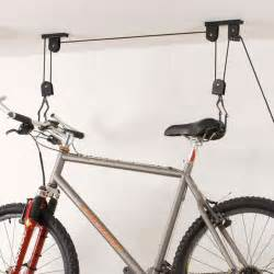 bike bicycle lift ceiling mounted hoist storage hanger