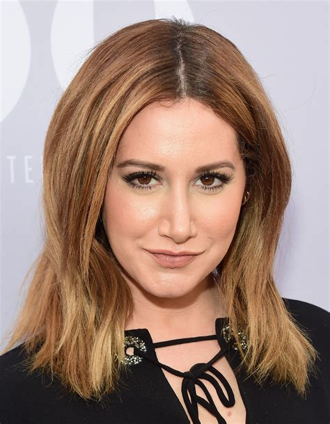 Ashley Tisdale Showcases Her Graphic Tee Line Twist