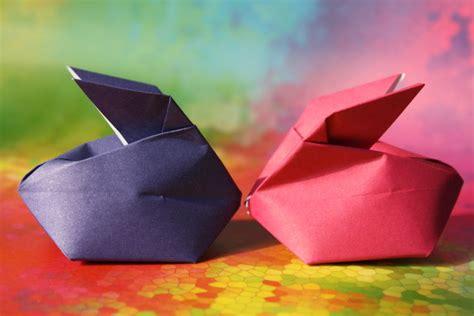 Origami Hase. Bohnenhase Bento July 2012. Origa Mania