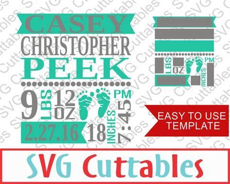 82 free birth announcement clipart in ai, svg, eps or psd. Baby Birth Announcement SVG DXF EPS Vector Digital Cutting