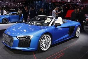 Audi Paris Est : mondial auto 2016 l 39 audi r8 spyder est mieux sans toit photo 7 l 39 argus ~ Medecine-chirurgie-esthetiques.com Avis de Voitures