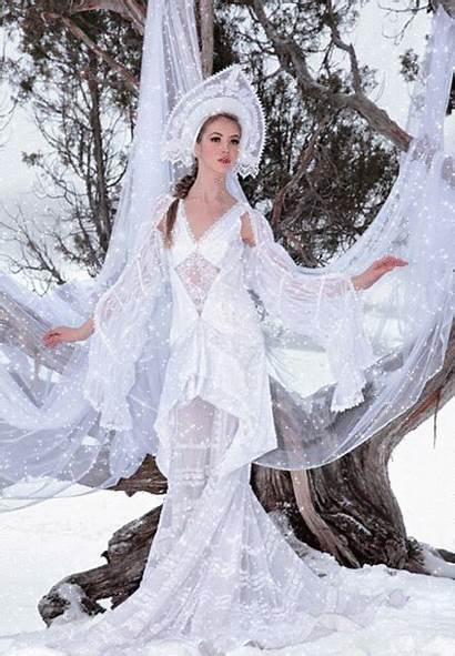 Russian Snow Winter Queen Beauty Costume