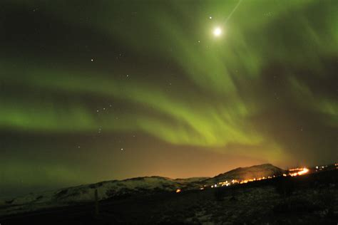 can you see the northern lights in iceland in june aurora borealis northern lights over reykjavik in