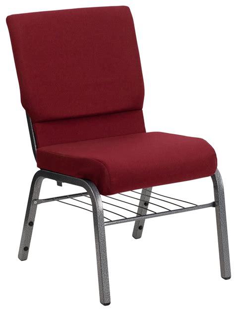hercules series burgundy fabric church chair from renegade