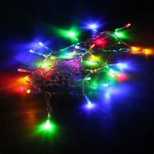 Guirlande Lumineuse Led Exterieur : guirlande electrique lumineuse multicolore 30 leds achat ~ Melissatoandfro.com Idées de Décoration