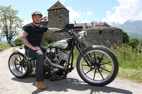 Bobber Motorcycle Custom Motorbike Bike Chopper Hot Rod