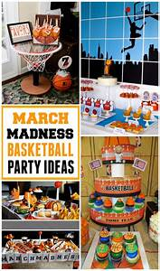 Get Ready for March Madness with Basketball Party Ideas