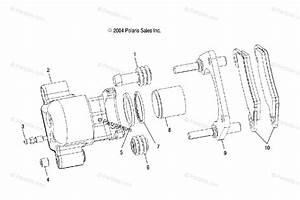 Polaris Side By Side 2007 Oem Parts Diagram For Brake