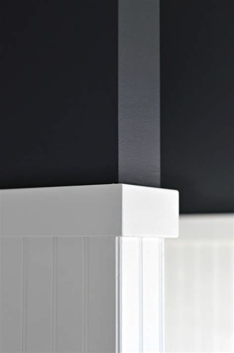 benjamin moore soot black paint flat washable finish
