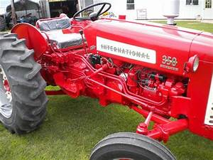 Ih 350 Utility Tractor For Sale